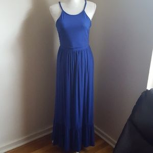 Old Navy Royal Blue Maxi Dress Size M
